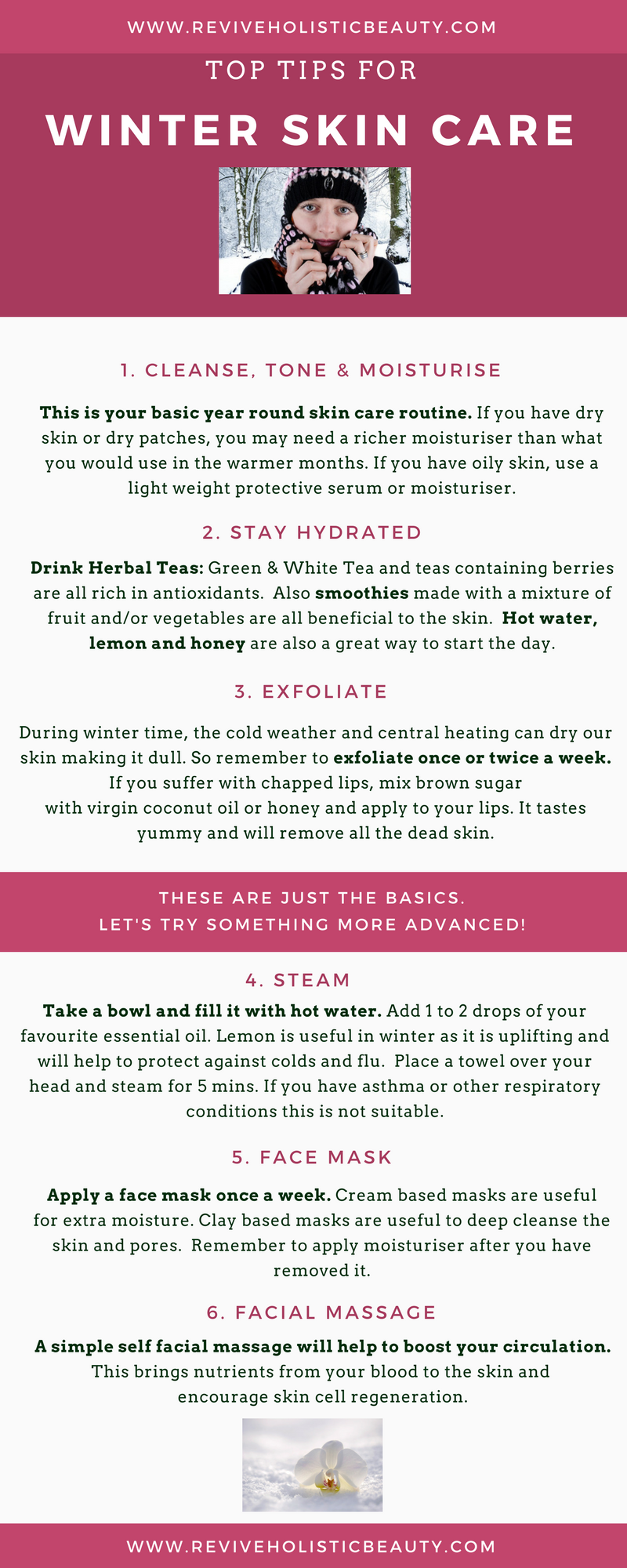 Top Tips for Winter Skin Care