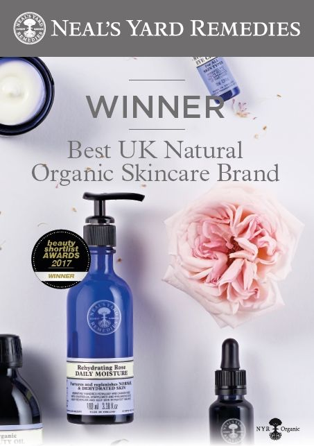 NYR Best UK Organic Skin Care Award 2017