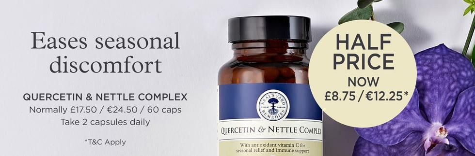 Neal's Yard Quercetin and Nettle Half Price