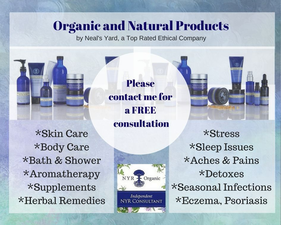 Neal's Yard Organic Indpendent Consultant