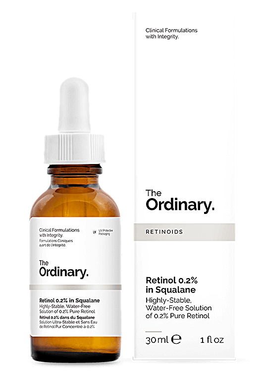 the ordinary Retinol 0.2% in squalane