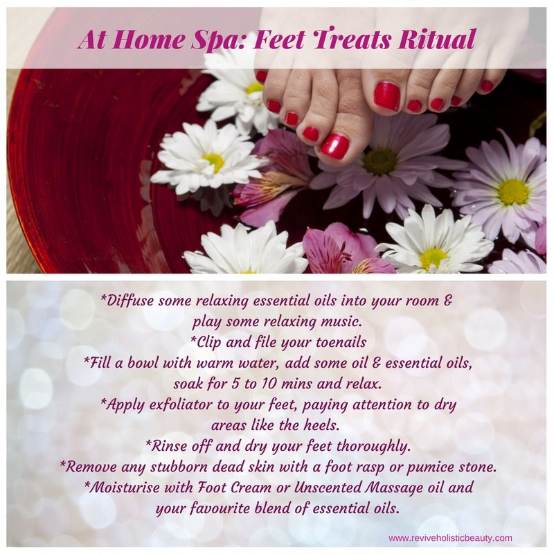 At Home Spa_ Feet Treats Ritual