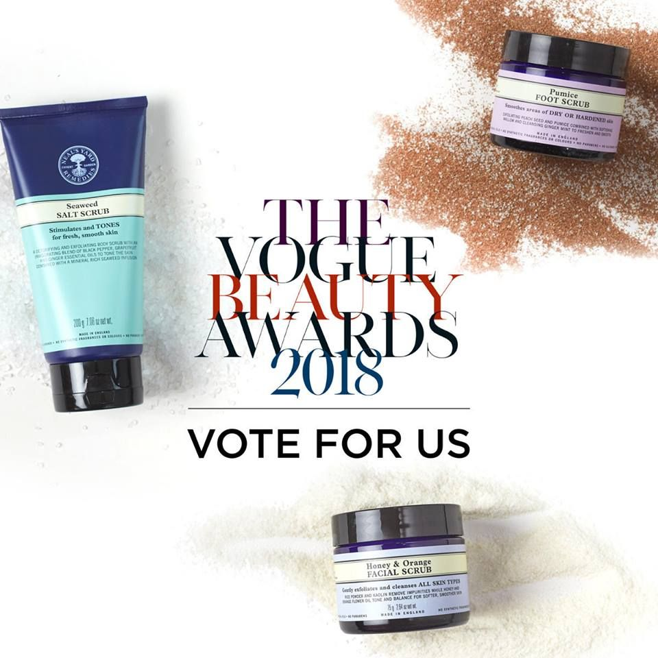 NYR Vogue Beauty Awards 2018 vote for