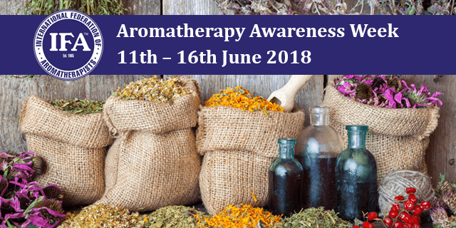 Aromatherapy Awareness Week 2018