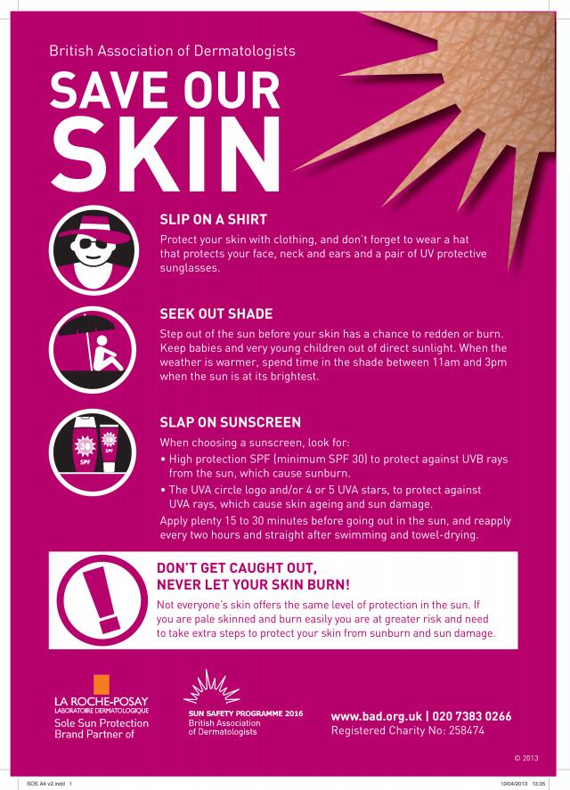 Sun Awareness Week 2