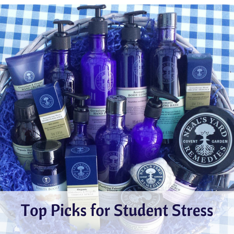 Neals Yard Top Picks for Student Stress