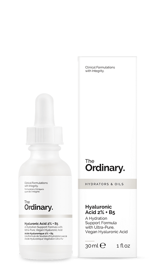 the ordinary hyarulonic acid and B5