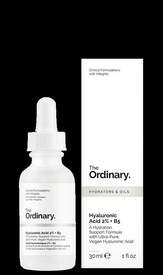 the ordinary hyarulonic acid and B5