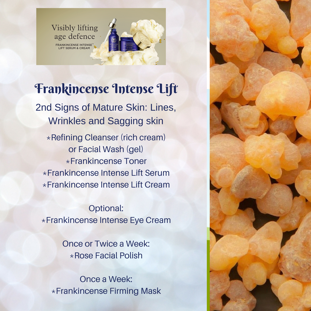 Frankincense Intense Lift Range