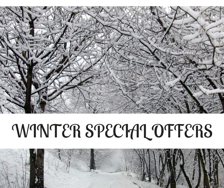 *Winter Special Offers
