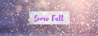 Snow Fall Wax Melt
