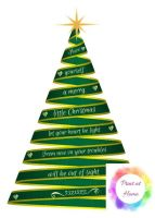 """Have Yourself a Merry Little Chrismtas 7"""" x 5"""" print at home printable"""