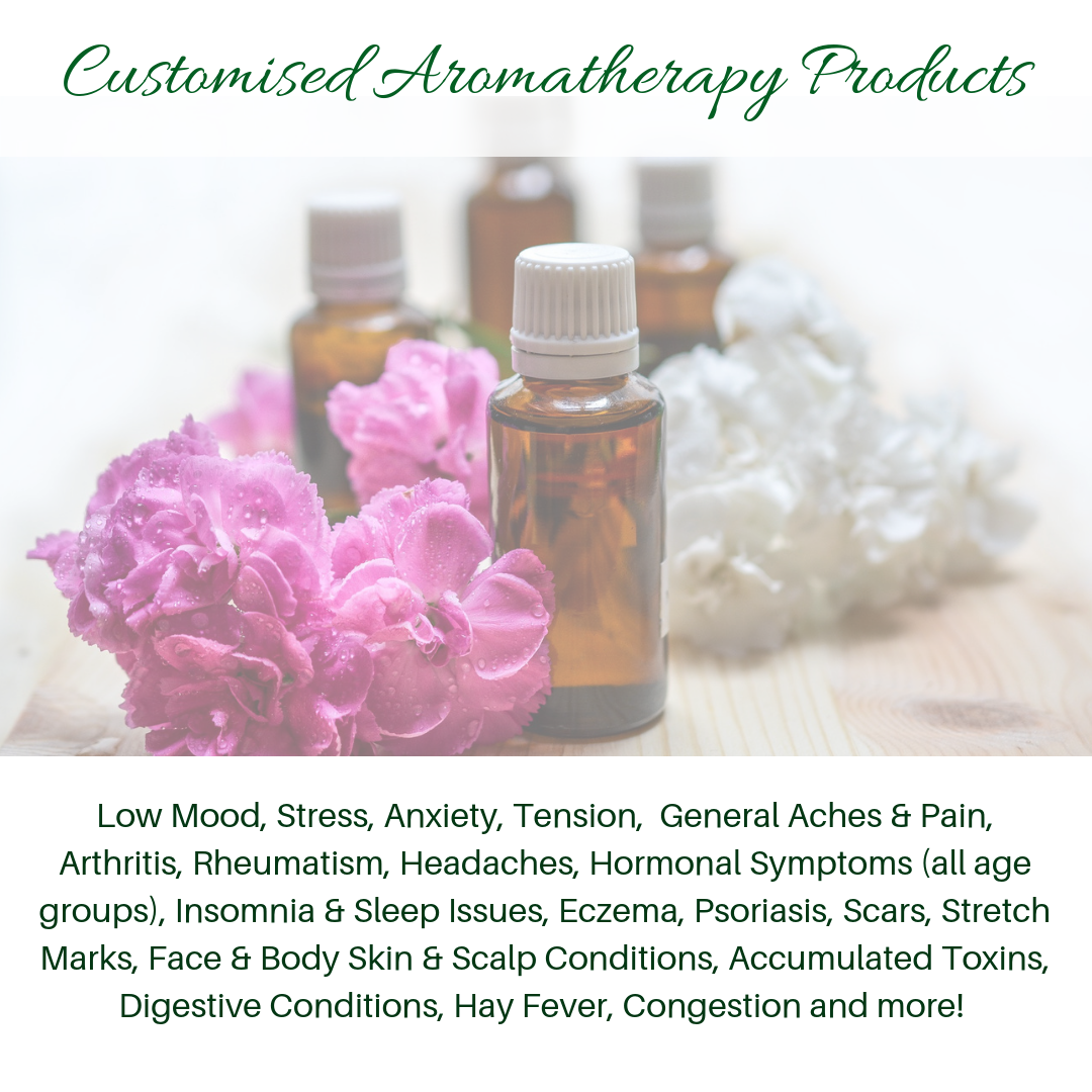 Customsied Aromatherapy Products