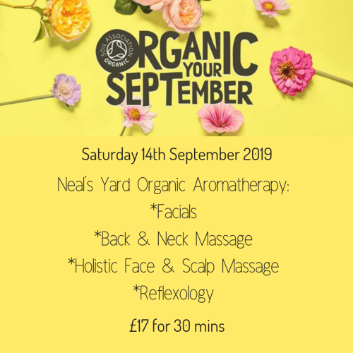 Organic September Saturday Offer