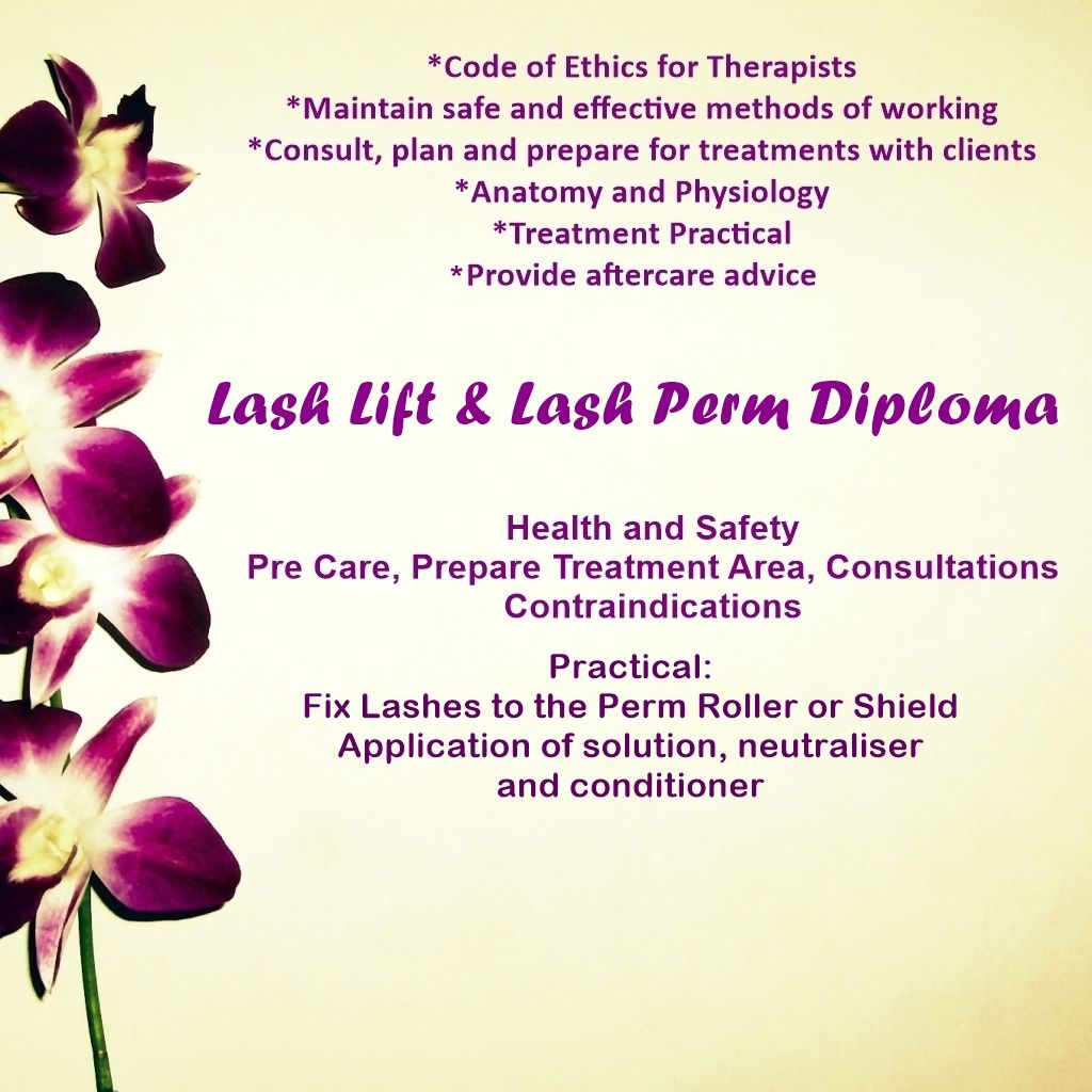 Lash Lift and Lash Perm Course Stockport