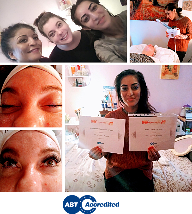 Accredited Lash and Brow Facials Course Stockport 2