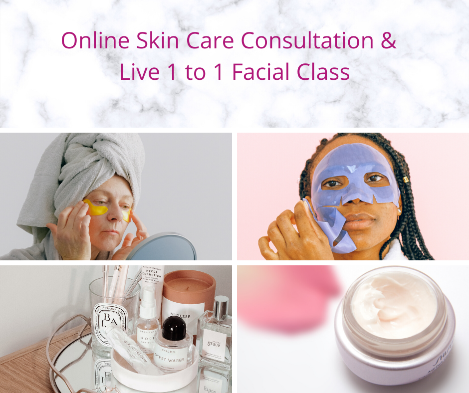 Virtual Skin Care Consultation and Live Facial Demonstration