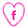Free facebook pink heart social media icon