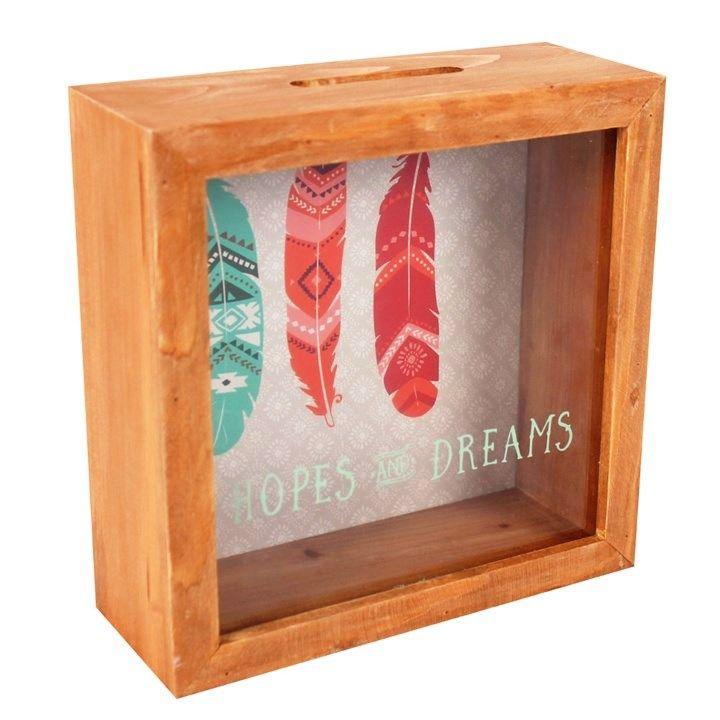 Hopes and Dreams Wish or Money Savings Box
