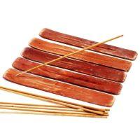 Mango Wood Incense Holder x 1