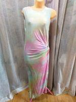 Pastel Tie Dye Knot Twist Body Con Dress