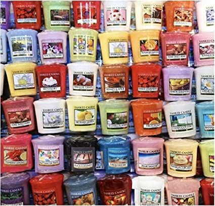 Yankee Candle Votives: Mixed Scents