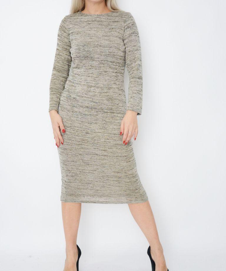 Stone Knit Jumper Dress