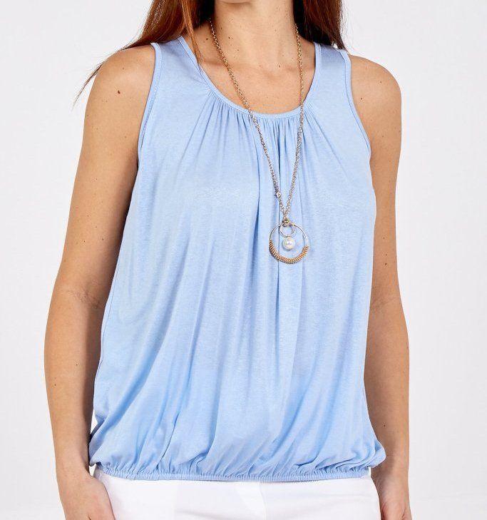 Bubble Vest with Necklace