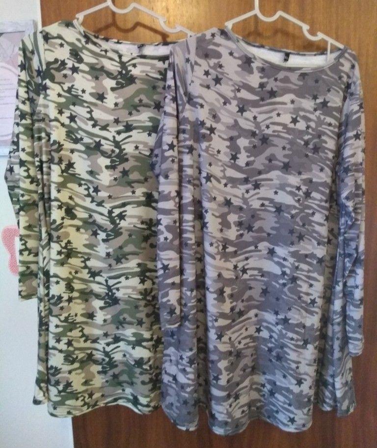 Camo Print Tunic or Dress