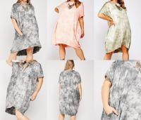 Casual Tie Dye T Shirt Dress or Top
