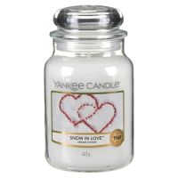 FESTIVE - Snow in Love Large Yankee Candle Jar