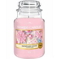 FESTIVE - Snowflake Cookie large Yankee candle jar