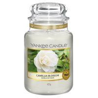 FLORAL - Camellia Blossom large Yankee candle jar