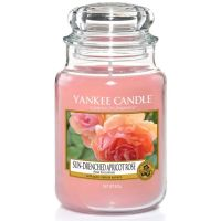 FLORAL -FRUITY - Sun Drenched Apricot Rose large Yankee candle