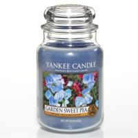 FLORAL - Garden Sweet Pea large Yankee candle