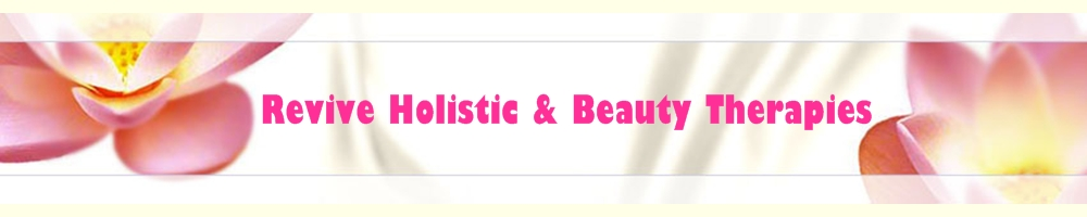 Revive Holistic and Beauty Therapies, site logo.