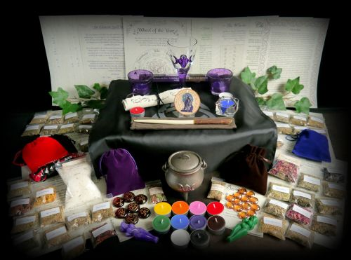 Huge Witches Starter Kit with Cauldron