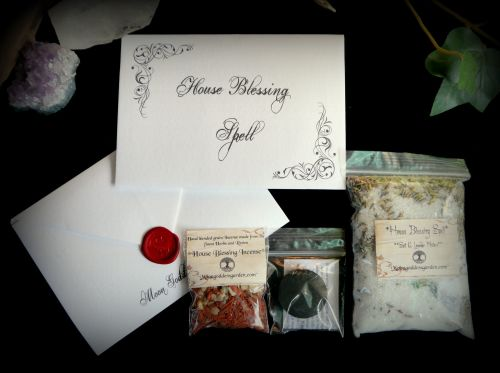 House Blessing Spell Kit and Cleansing Ritual Set