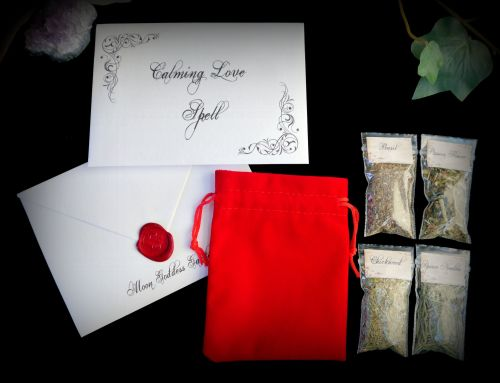 Calming Love Spell Kit Ritual Set