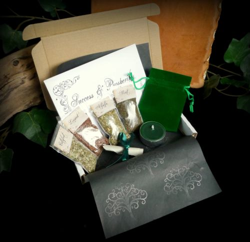 Success and Prosperity Spell Kit Ritual Set