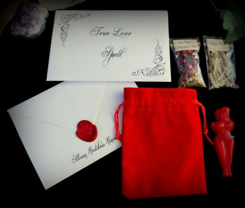 True Love Spell Kit Ritual Set