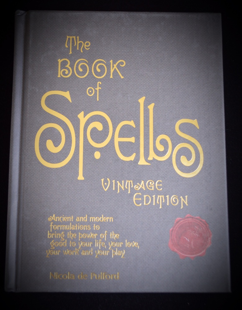 The Book of Spells vintage edition by Nicola de Pulford