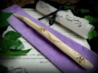 Witches Ivy Wood Wand with Faerie Star Hilt