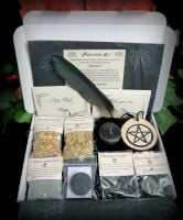 Witches Protection Spell Casting Kit Wiccan Pagan Witchcraft Gift