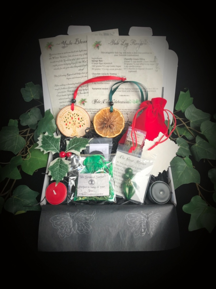 Yule Blessing  Kit  Yule GoddessWiccan Pagan Witchcraft Gift