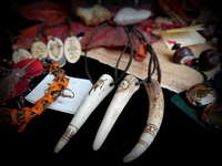 Antler Necklaces & Wooden Pendants