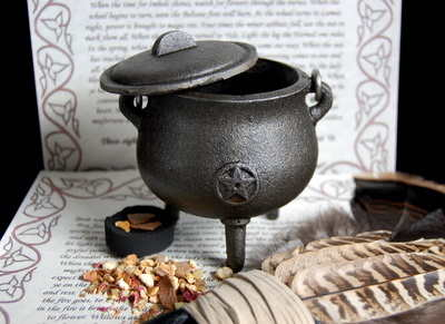 Mini Cauldron Incense Burner