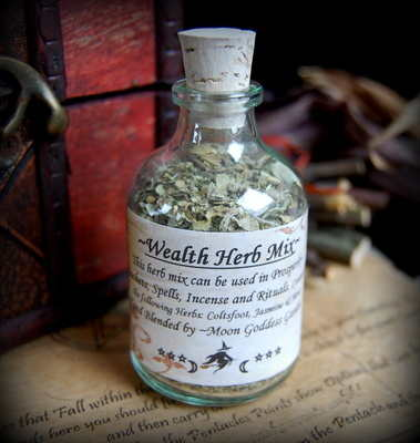*Wealth* Potion Bottle Mix