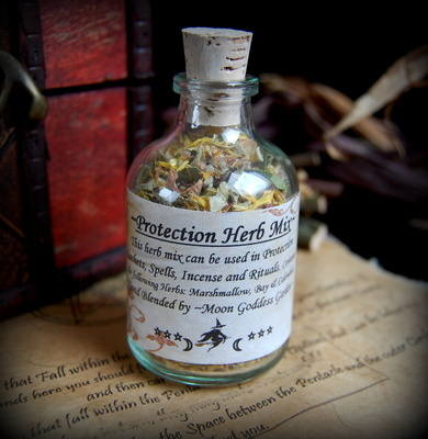*Protection* Potion Bottle Mix