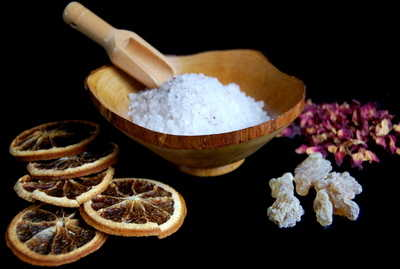 Ritual Bath Salts *Yule Blessings*